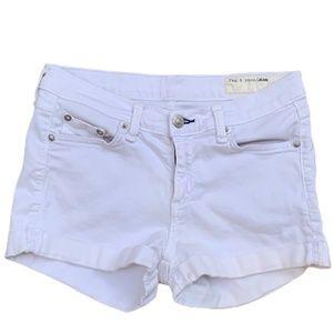 Rag and Bone White Shorts Size 24